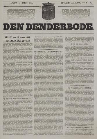 De Denderbode 1853-03-13