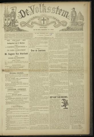 De Volksstem 1900-10-20