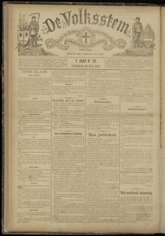 De Volksstem 1895-07-20