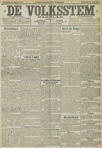 De Volksstem 1914-06-24