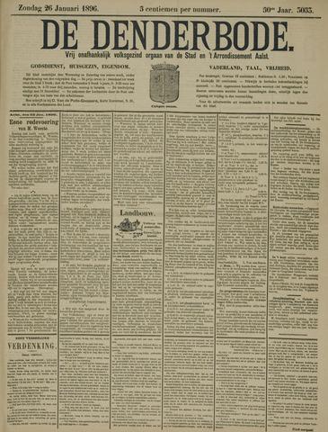 De Denderbode 1896-01-26