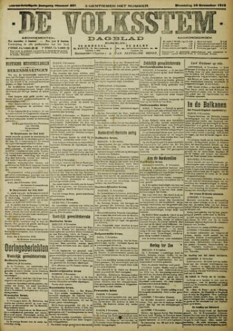 De Volksstem 1915-11-10