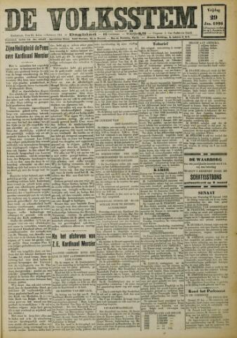 De Volksstem 1926-01-29