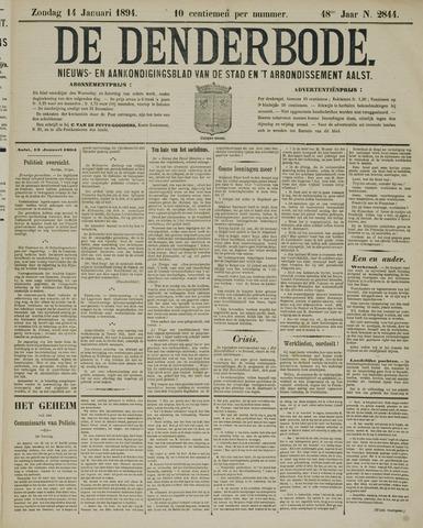 De Denderbode 1894-01-14
