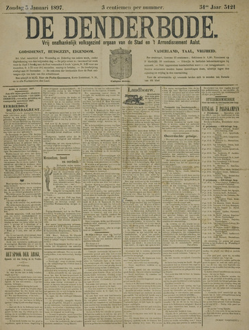De Denderbode 1897