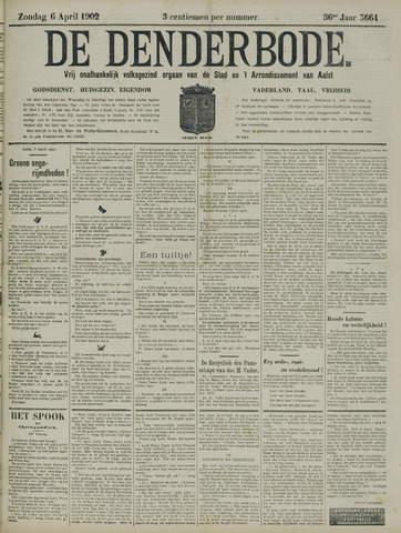 De Denderbode 1902-04-06