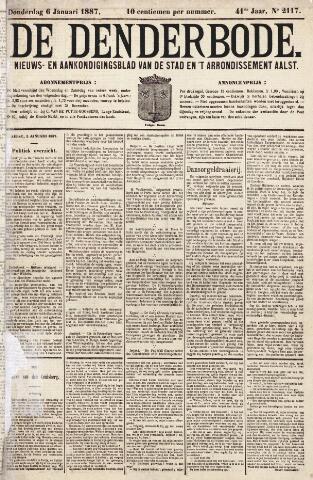 De Denderbode 1887-01-06