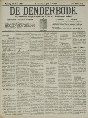 De Denderbode 1907-05-26