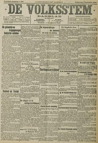 De Volksstem 1914-11-05