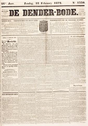 De Denderbode 1872-02-18