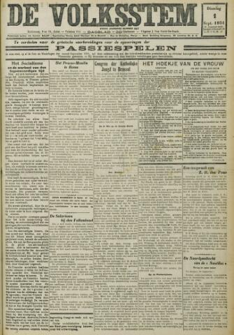 De Volksstem 1931-09-01