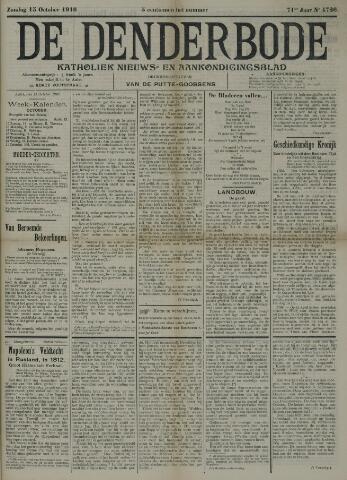 De Denderbode 1916-10-15