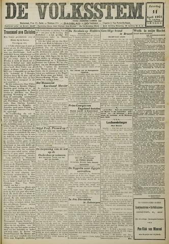 De Volksstem 1931-04-11