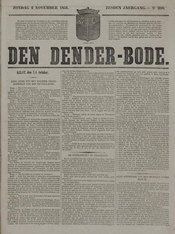 De Denderbode 1851-11-02