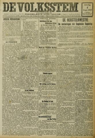 De Volksstem 1923-08-04