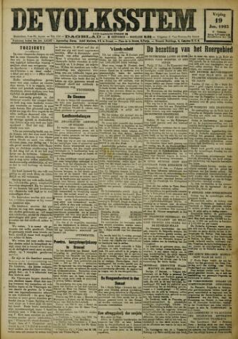 De Volksstem 1923-01-19
