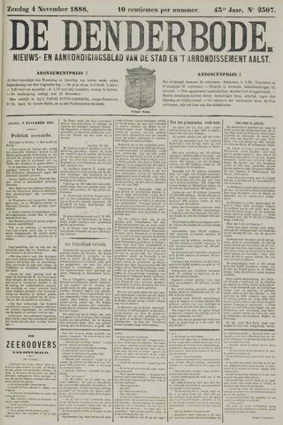 De Denderbode 1888-11-04