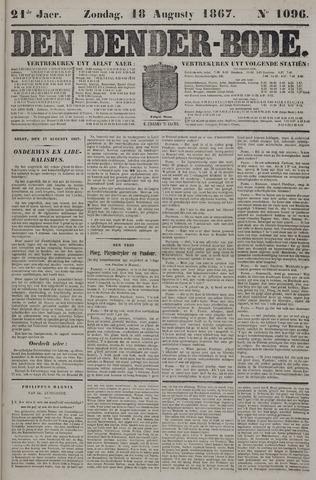 De Denderbode 1867-08-18