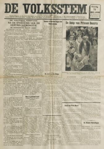 De Volksstem 1938-05-14
