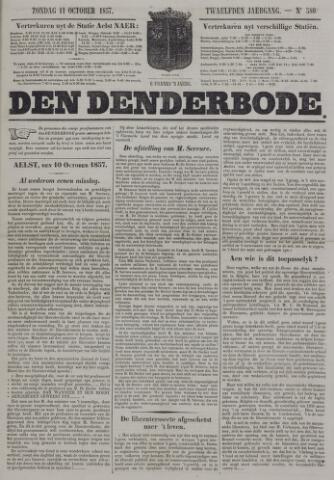 De Denderbode 1857-10-11