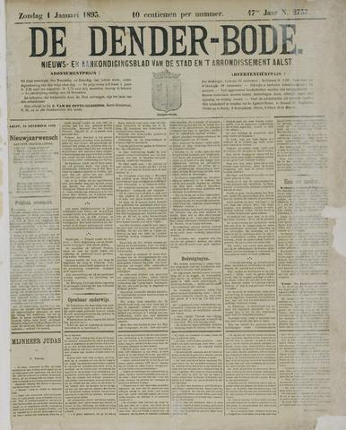 De Denderbode 1893-01-01