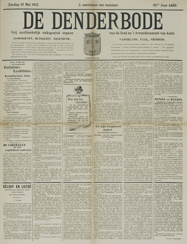 De Denderbode 1912-05-19