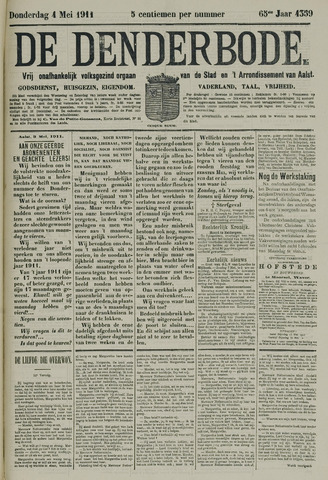 De Denderbode 1911-05-04