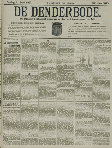 De Denderbode 1903-06-21