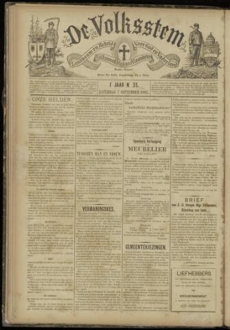 De Volksstem 1895-09-07