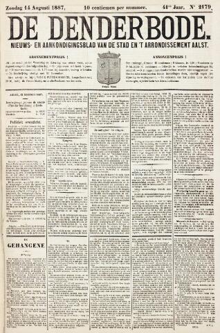 De Denderbode 1887-08-14