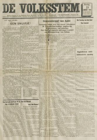 De Volksstem 1938-01-23