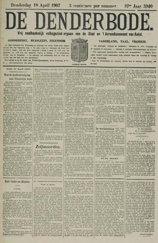 De Denderbode 1907-04-18