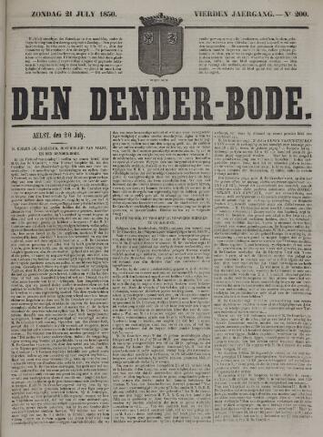 De Denderbode 1850-07-21
