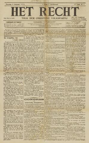 Het Recht 1910