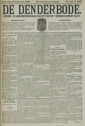 De Denderbode 1890-09-18