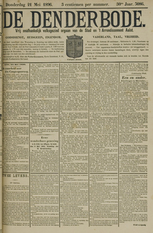 De Denderbode 1896-05-21