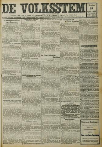De Volksstem 1930-04-29