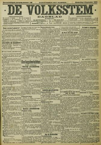 De Volksstem 1915-09-02