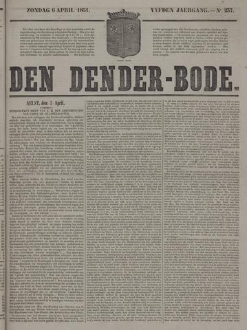 De Denderbode 1851-04-06