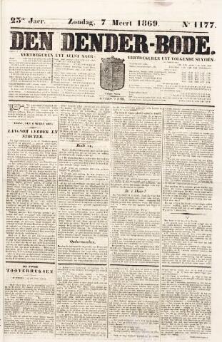 De Denderbode 1869-03-07