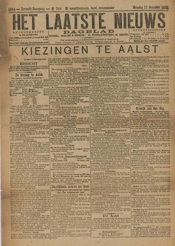 Het Laatste Nieuws 1894
