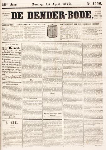 De Denderbode 1872-04-14