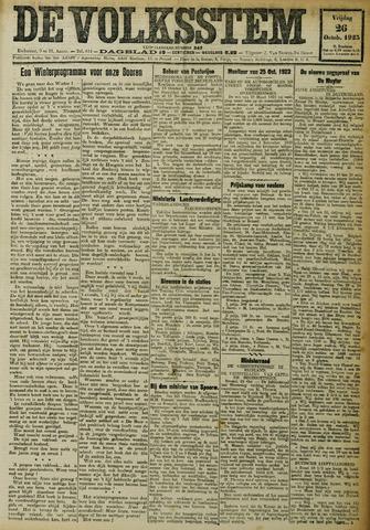 De Volksstem 1923-10-26