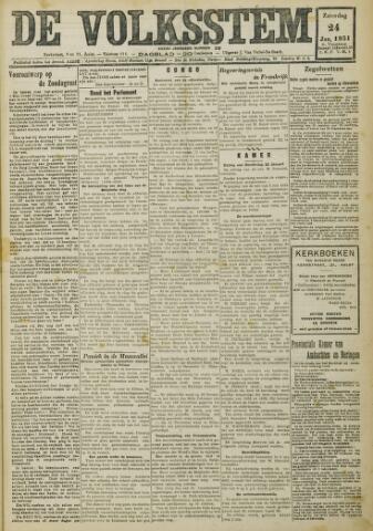 De Volksstem 1931-01-24