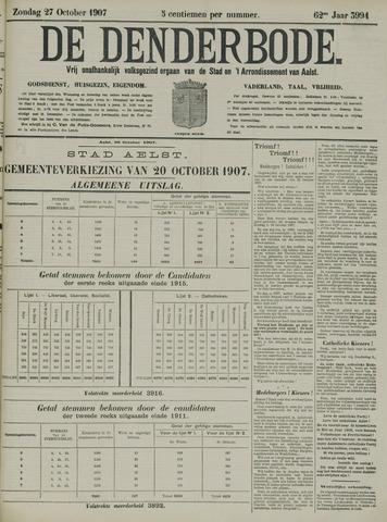 De Denderbode 1907-10-27