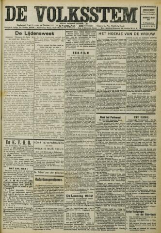 De Volksstem 1932-03-20