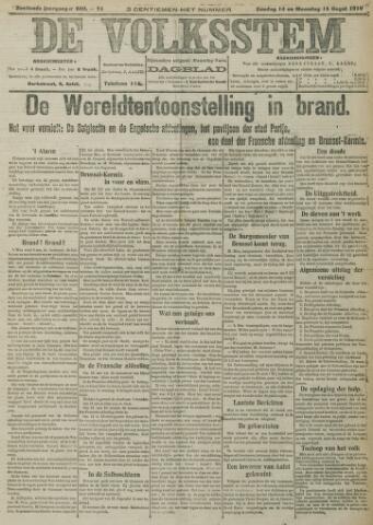 De Volksstem 1910-08-15