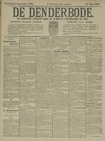De Denderbode 1898-09-11