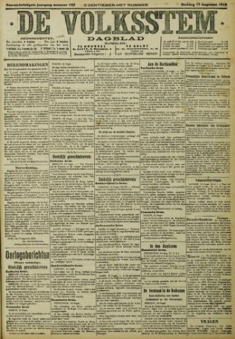 De Volksstem 1915-08-17