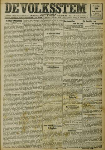 De Volksstem 1923-01-20